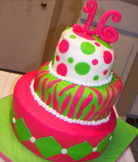birthday cakes for 16